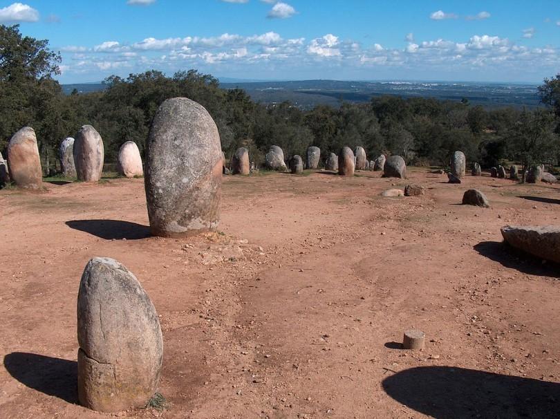 Cromeleque dos Almendres Portogallo