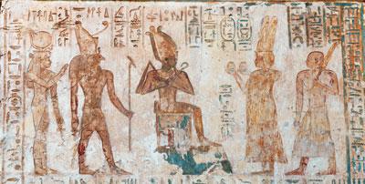 Viti e vino nell'antico Egitto