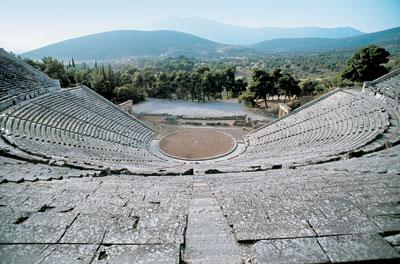 Romani e Greci a teatro
