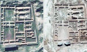 IRAQ-CONFLICT-HERITAGE-NIMRUD-TEMPLE