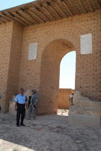 Nimrud Entrata tempio di Nabu Maggio 2008