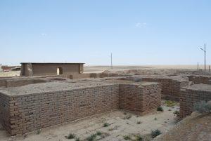 Nimrud Maggio 2008 cella del tempio di Nabu