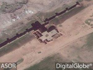 Porta di Adad, dal satellite, 1 aprile 2016