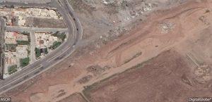 Porta di Adad e tratto di mura dal satellite, 2 maggio 2016
