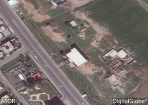 Porta di Mashki dal satellite, 1 aprile 2016