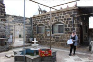 Bosra, aprile 2019: censimento dei danni nella città storica