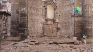 La chiesa dell'Orologio: l'altare distrutto dall'ISIS