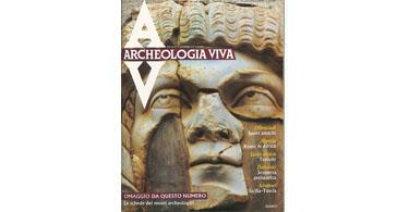 copertina rivista archeologia viva 1