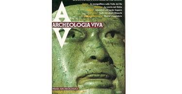 copertina rivista archeologia viva 10