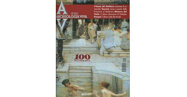 copertina rivista archeologia viva 100