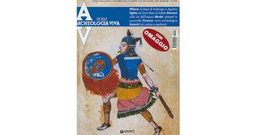 copertina rivista archeologia viva 104
