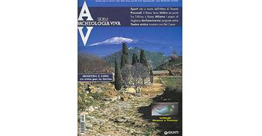 copertina rivista archeologia viva 105