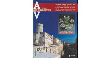 copertina rivista archeologia viva 106