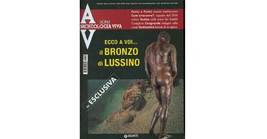 copertina rivista archeologia viva 109