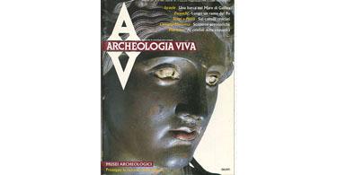 copertina rivista archeologia viva 11