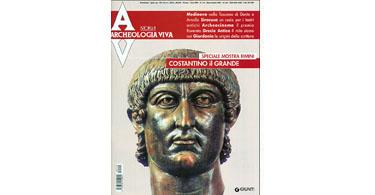 copertina rivista archeologia viva 110