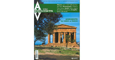 copertina rivista archeologia viva 112