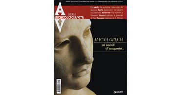 copertina rivista archeologia viva 113