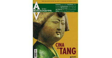 copertina rivista archeologia viva 116