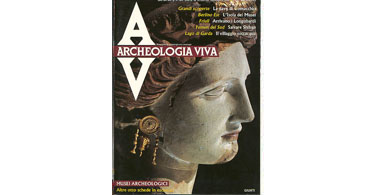 copertina rivista archeologia viva 12