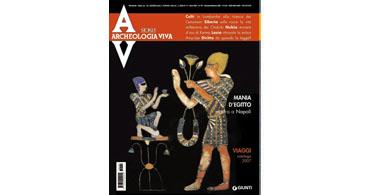 copertina rivista archeologia viva 121