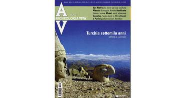 copertina rivista archeologia viva 122