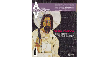 copertina rivista archeologia viva 128