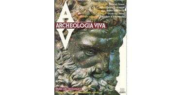 copertina rivista archeologia viva 13