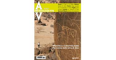 copertina rivista archeologia viva 131