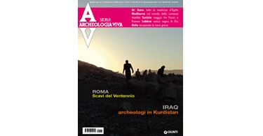 copertina rivista archeologia viva 132