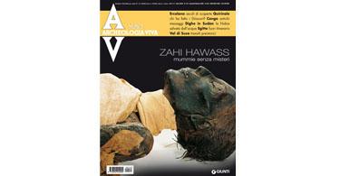 copertina rivista archeologia viva 133