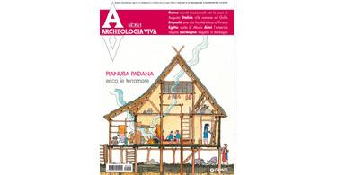 copertina rivista archeologia viva 134
