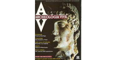 copertina rivista archeologia viva 14