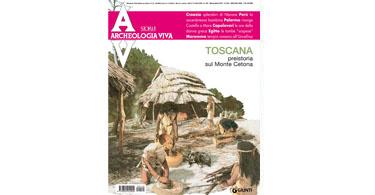 copertina rivista archeologia viva 140