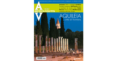 copertina rivista archeologia viva 141