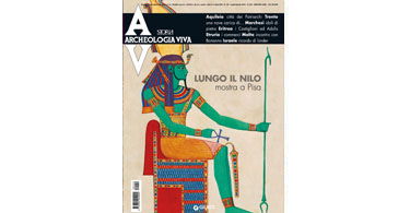 copertina rivista archeologia viva 142