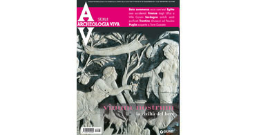 copertina rivista archeologia viva 145