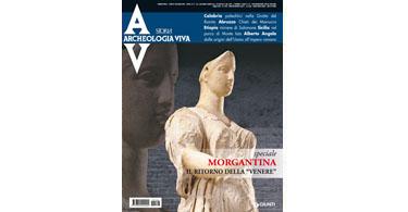 copertina rivista archeologia viva 146