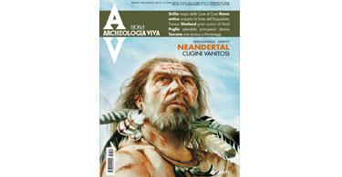 copertina rivista archeologia viva 150