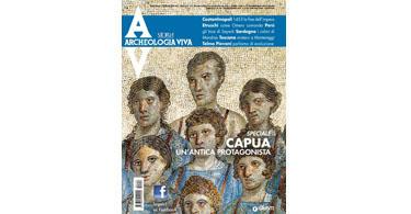copertina rivista archeologia viva 153