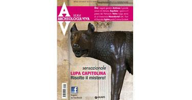 copertina rivista archeologia viva 154