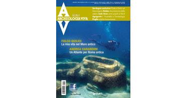 copertina rivista archeologia viva 155