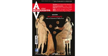 copertina rivista archeologia viva 156