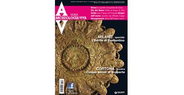 copertina rivista archeologia viva 157