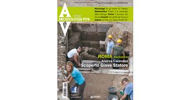 copertina rivista archeologia viva 158