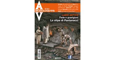 copertina rivista archeologia viva 159