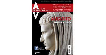 copertina rivista archeologia viva 163