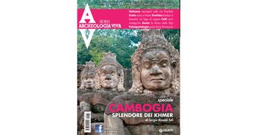 copertina rivista archeologia viva 164