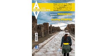 copertina rivista archeologia viva 165