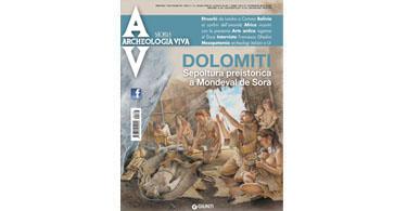 copertina rivista archeologia viva 166